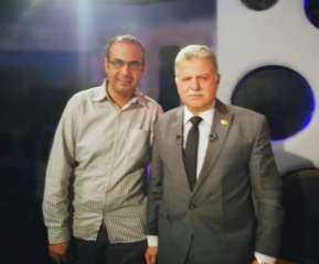رئيس تحرير برنامج طريقى مع وكيل صحة البرلمان